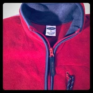Old Navy fleece vest